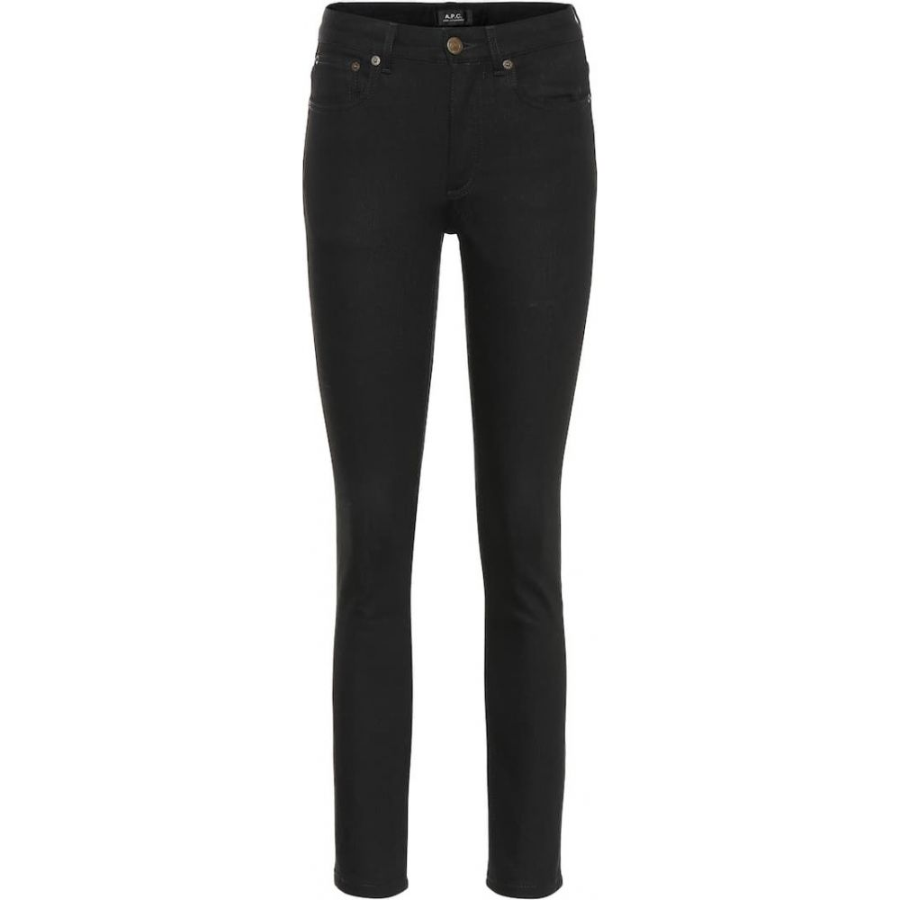 A.P.C.(アーペーセー)『High Standard mid-rise skinny jeans Noir』