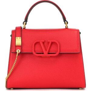 Сумка через плечо Валентино Ladies [Кожаная сумка через плечо Garavani VSLING] Руж Пур / Рубин