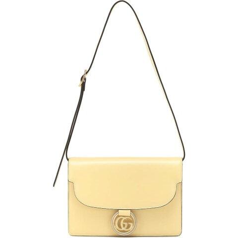 グッチ Gucci レディース ショルダーバッグ バッグ【gg ring small leather shoulder bag】Butter