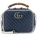 グッチ Gucci レディース ショルダーバッグ バッグ【gg marmont small shoulder bag】Blue Agata/Myst. White