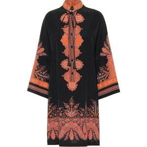 エトロ Etro レディース ワンピース ワンピース・ドレス【Printed silk minidress】