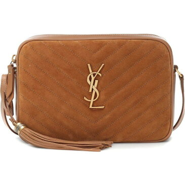 イヴ サンローラン Saint Laurent レディース ショルダーバッグ カメラバッグ バッグ【lou camera leather crossbody bag】Cinnamon
