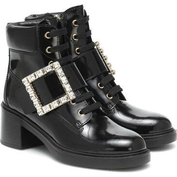 ロジェ ヴィヴィエ Roger Vivier レディース ブーツ ショートブーツ レースアップブーツ シューズ・靴【viv rangers lace-up ankle boots】Nero