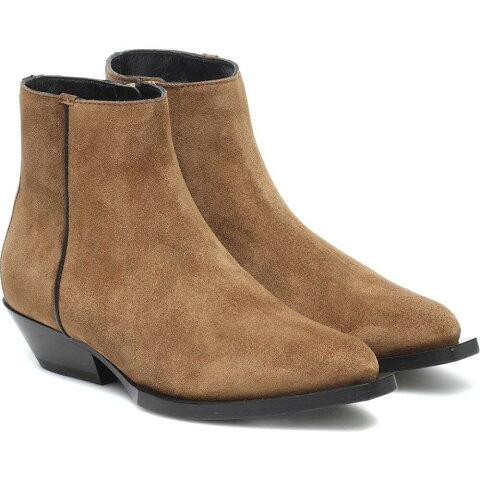 ジミー チュウ Jimmy Choo レディース ブーツ ショートブーツ シューズ・靴【Jun Suede Ankle Boots】Clove Black