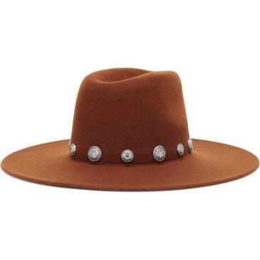 メゾンミッシェル Maison Michel レディース 帽子 【Eliza Wool Felt Hat】Cinnamon