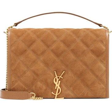 イヴ サンローラン Saint Laurent レディース ショルダーバッグ バッグ【Becky Small Suede Shoulder Bag】Cinnamon