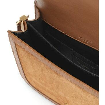 イヴ サンローラン Saint Laurent レディース ショルダーバッグ バッグ【Solferino Medium Suede Crossbody Bag】Cinnamon