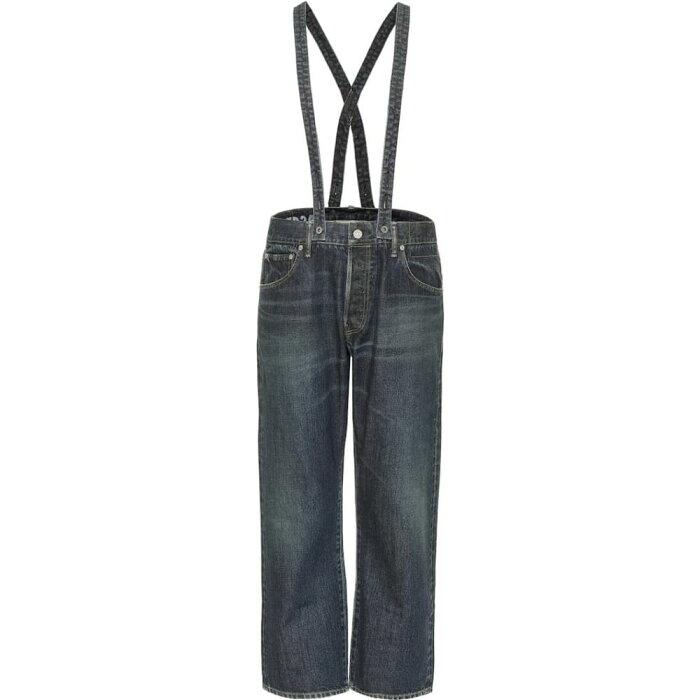 ビズビム VISVIM レディース ジーンズ・デニム ボトムス・パンツ【Mid-Rise Straight Suspender Jeans】Dmgd