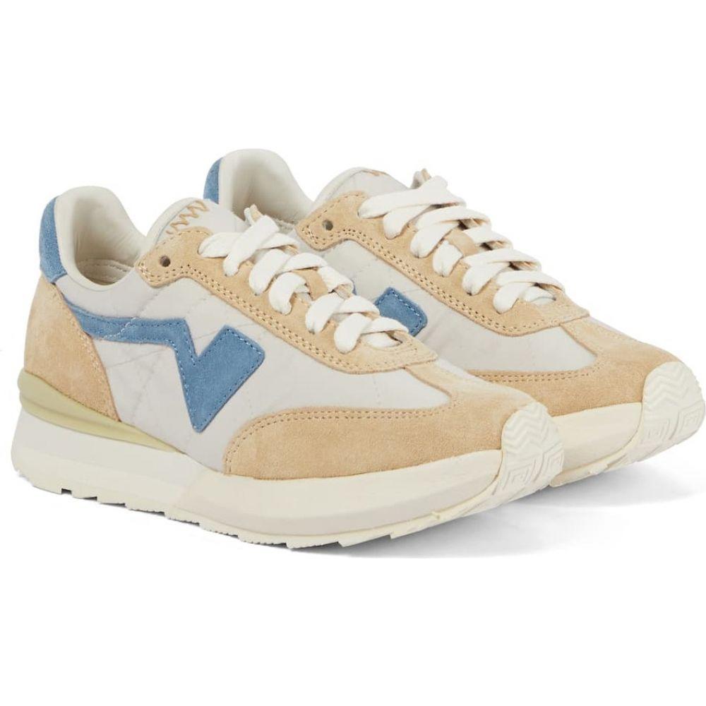 レディース靴, スニーカー  visvim Skagway suede-trimmed sneakersOff White