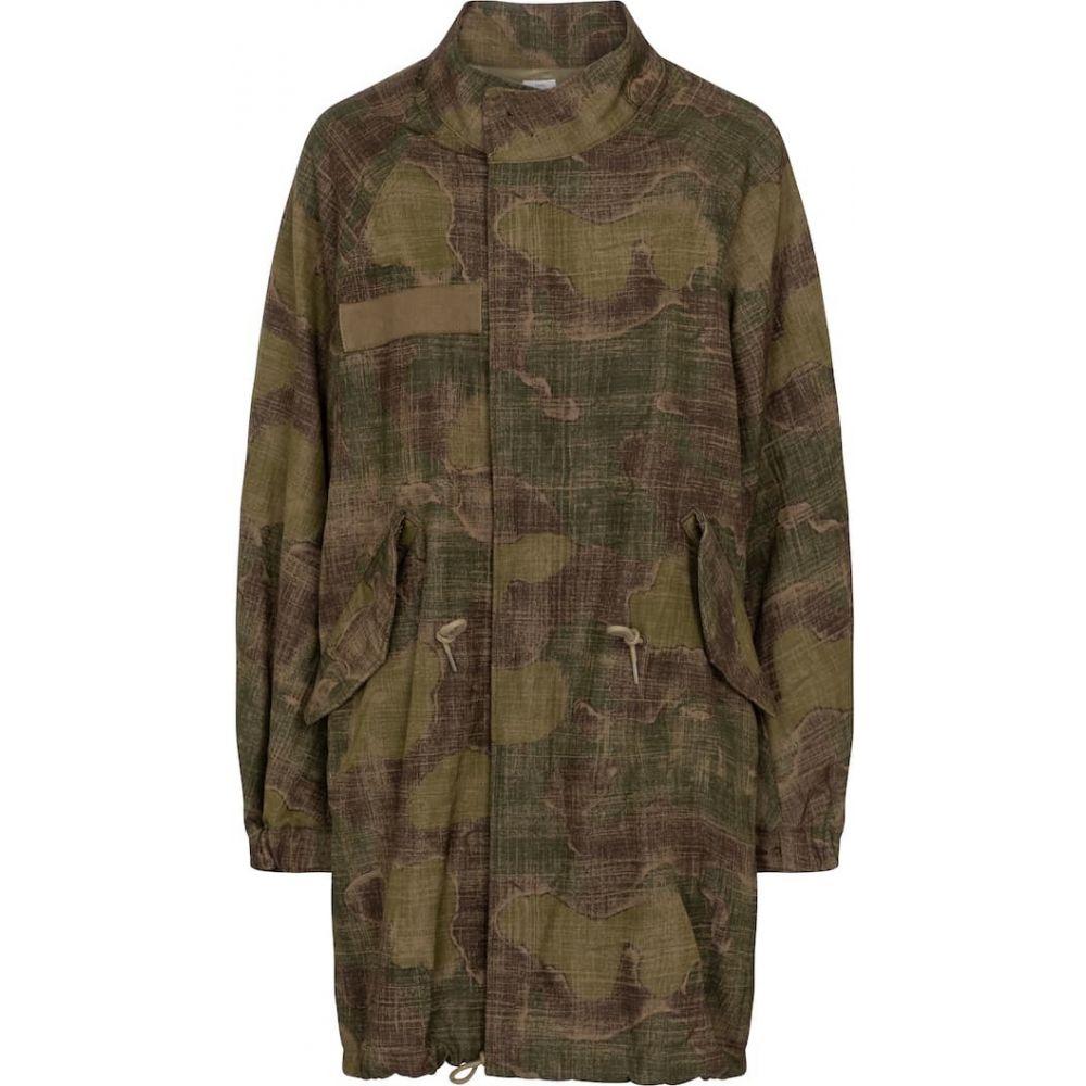 レディースファッション, コート・ジャケット  visvim Six-Five wool and linen parkaCamo