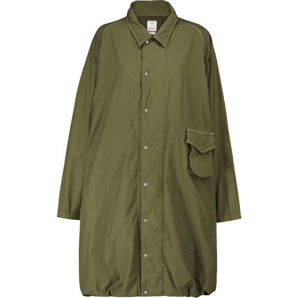 レディースファッション, コート・ジャケット  visvim Cotton-blend parka coatOlive