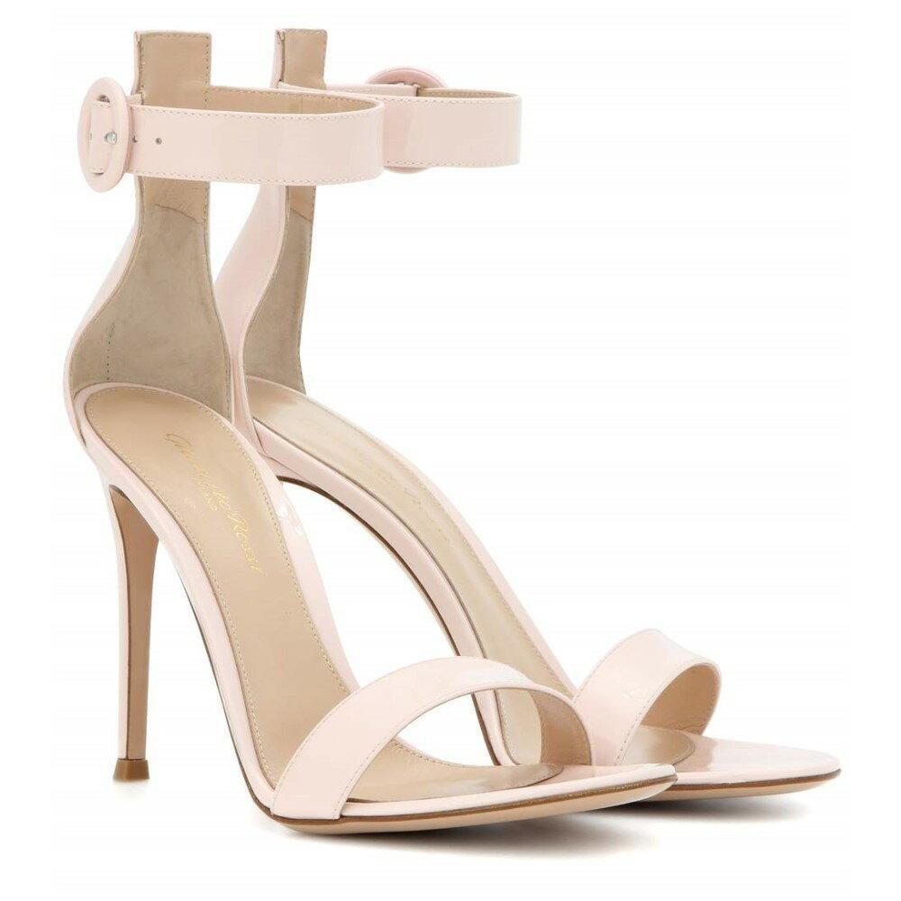 ジャンヴィト ロッシ Gianvito Rossi レディース シューズ・靴 サンダル【Portofino 105 patent leather sandals】