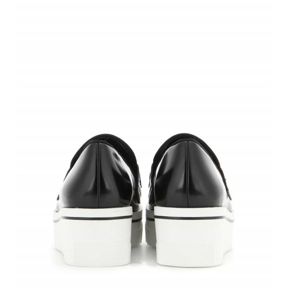 ステラ マッカートニー Stella McCartney レディース シューズ・靴 スニーカー【Embellished faux leather platform slip-on sneakers】