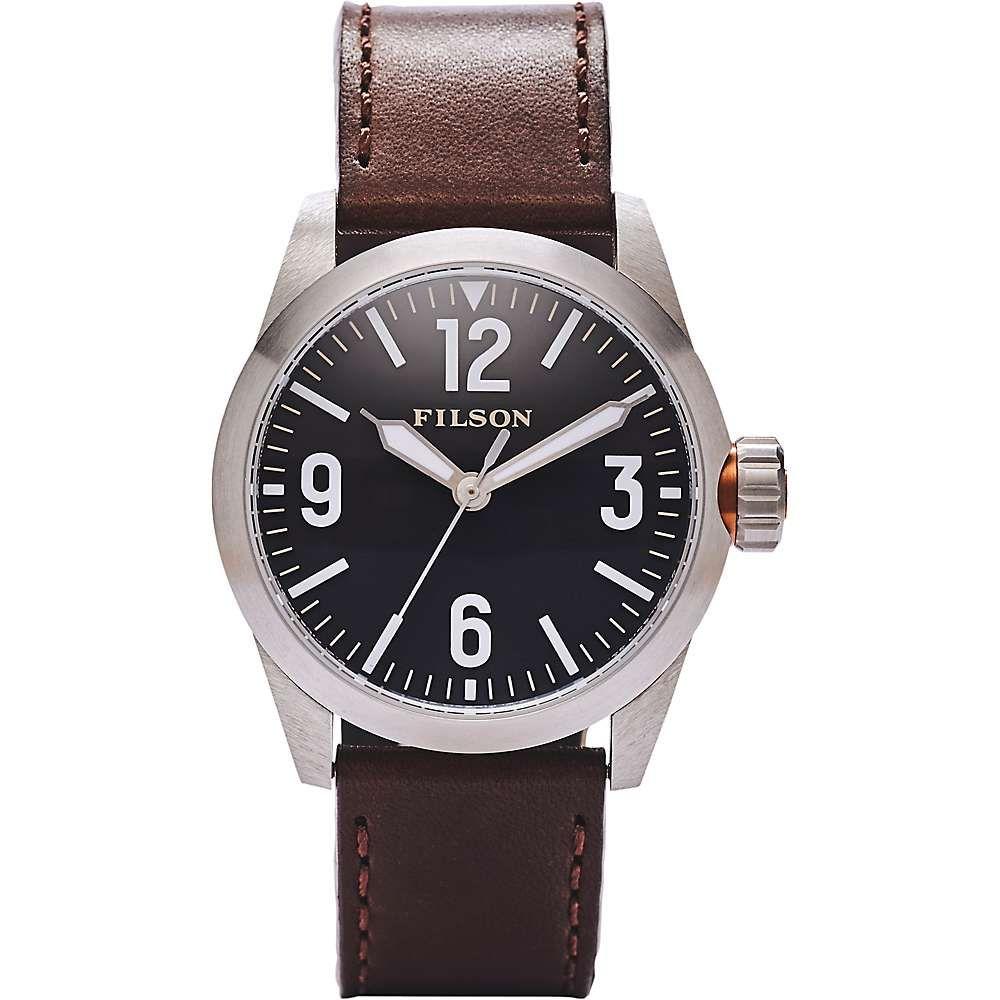 フィルソン Filson メンズ 腕時計【Standard Issue Field Watch】Black/Black