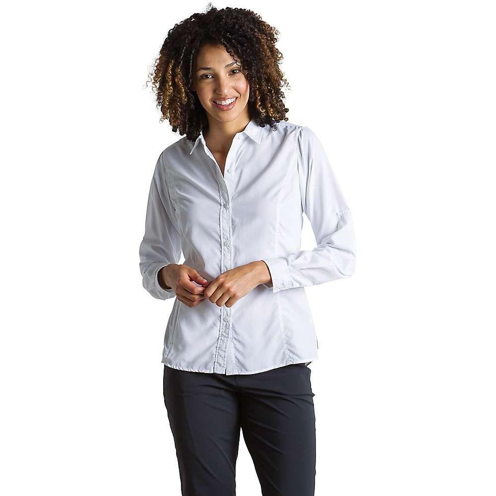 エクスオフィシオ ExOfficio レディース トップス ブラウス・シャツ【BugsAway Brisa LS Shirt】White