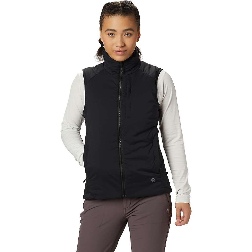 マウンテンハードウェア Mountain Hardwear レディース トップス ベスト・ジレ【Kor Strata Vest】Black