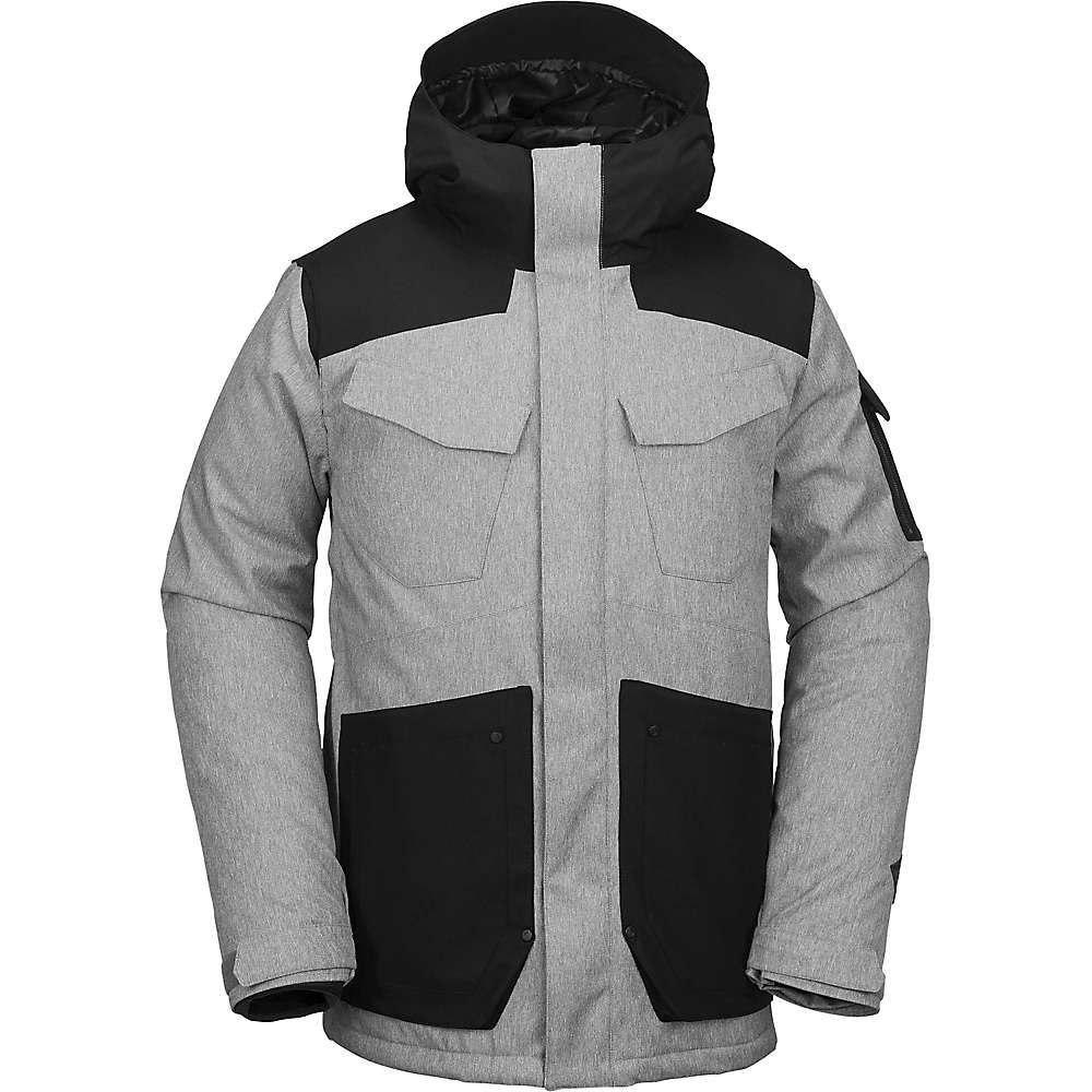 ボルコム Volcom メンズ アウター ジャケット【VCO Inferno Insulated Jacket】Heather Grey