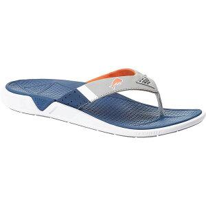 コロンビア Columbia Footwear メンズ シューズ・靴 ビーチサンダル【Columbia Rostra PFG Sandal】Carbon Tangy Orange