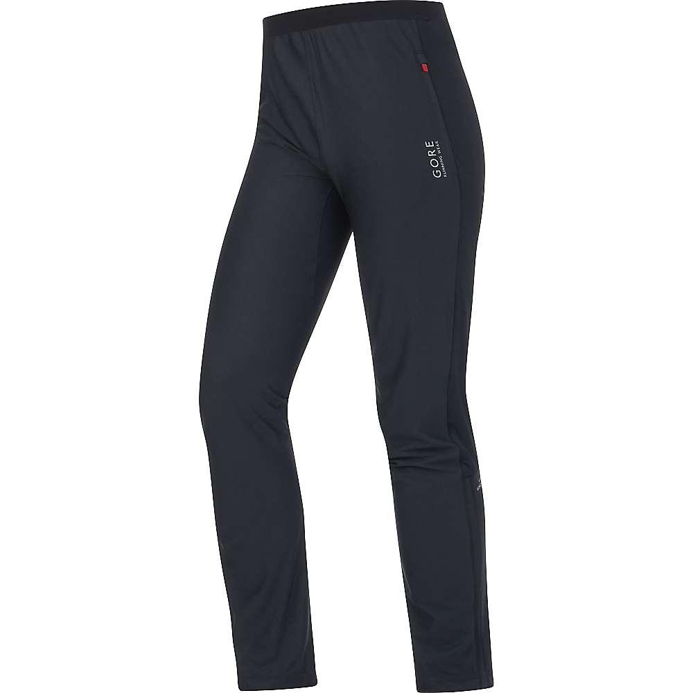 ゴア メンズ ランニング ウェア【Gore Running Wear Essential Gore Windstopper Pant】Black:フェルマート