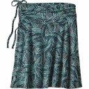 パタゴニア レディース スカート カジュアルスカート【Patagonia Lithia Skirt】River Rush / Ink Black