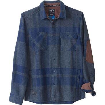 カブー Kavu メンズ シャツ トップス【KAVU Baxter Shirt】Navy
