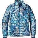 パタゴニア レディース アウター ジャケット【Patagonia Down Sweater】Rivermouth / Big Sur Blue