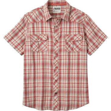マウンテンカーキス Mountain Khakis メンズ 半袖シャツ トップス【rodeo ss shirt】Rojo
