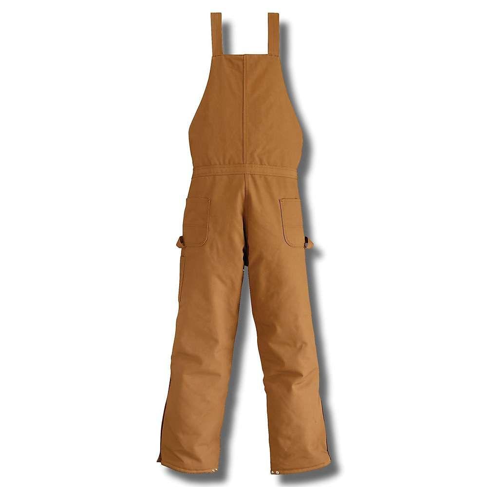 カーハート Carhartt メンズ オーバーオール ボトムス・パンツ【zip to waist biberall overall】Carhartt Brown