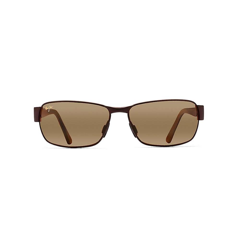 マウイジム メンズ アクセサリー メガネ・サングラス【Maui Jim Black Coral Polarized Sunglasses】Matte Espresso / HCL Bronze:フェルマート