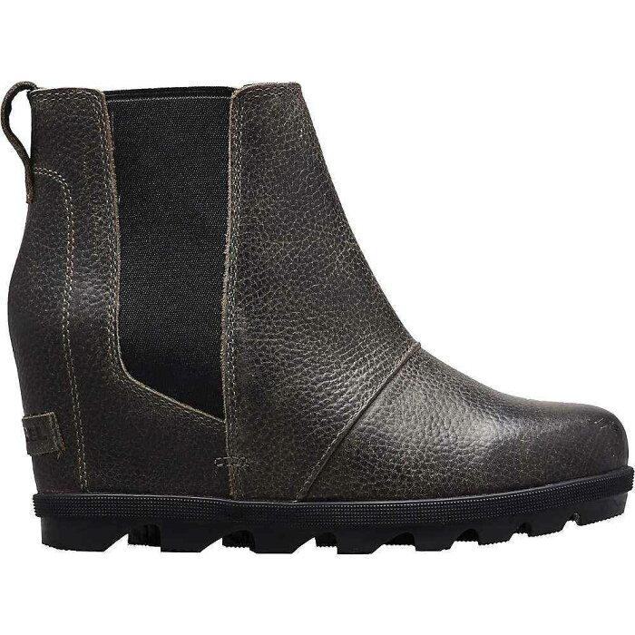 ソレル Sorel レディース ブーツ チェルシーブーツ ウェッジソール シューズ・靴【joan of arctic wedge ii chelsea boot】Quarry