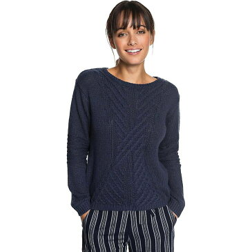 ロキシー Roxy レディース ニット・セーター トップス【glimpse of romance sweater】Dress Blues