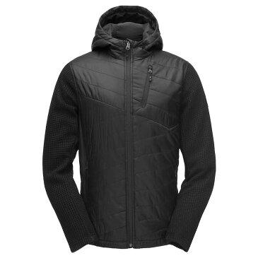 スパイダー Spyder メンズ スキー・スノーボード パーカー ジャケット アウター【ouzo hoody stryke jacket】Black/Black/Black