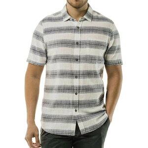 ジェレミア Jeremiah メンズ 半袖シャツ トップス【Douglas SS Crosshatch Twill Stripe Shirt】Back Bay