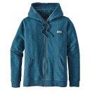 パタゴニア レディース トップス パーカー【Patagonia Pastel P-6 Label Midweight Full-Zip Hoody】Big Sur Blue