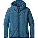 パタゴニア レディース アウター ジャケット【Patagonia Performance Better Sweater Hoody】Big Sur Blue