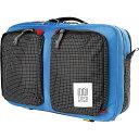 トポ デザイン Topo Designs ユニセックス バッグ 【Global Briefcase 3-Day】Blue/Black Ripstop