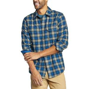 エディー バウアー Eddie Bauer Travex メンズ シャツ フランネルシャツ トップス【Expedition Flannel Shirt】Deep Indigo