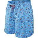 サックス SAXX Underwear メンズ 海パン 水着・ビーチウェア【SAXX Cannonball 2 in 1 Short 7 Inch】Blue Lite Skies