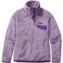パタゴニア レディース トップス【Patagonia Re-Tool Snap-T Pullover】Petoskey Purple / Petoskey Purple X-Dye