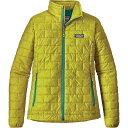 パタゴニア レディース アウター ジャケット【Patagonia Nano Puff Jacket】Fluid Green