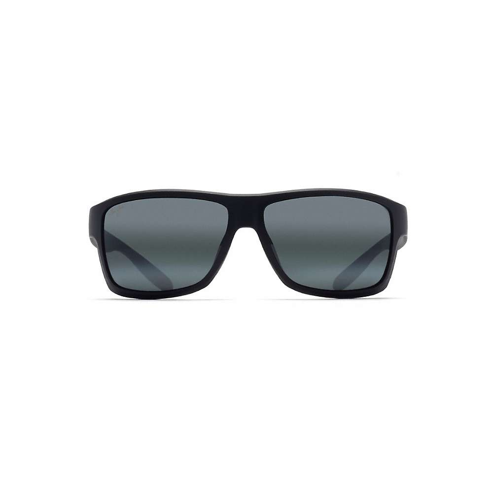 マウイジム メンズ アクセサリー メガネ・サングラス【Maui Jim Pohaku Polarized Sunglasses】Matte Black / Neutral Grey:フェルマート