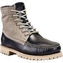 ティンバーランド メンズ シューズ・靴 ブーツ【Timberland Authentics Leather and Fabric Chukka Boot】Black