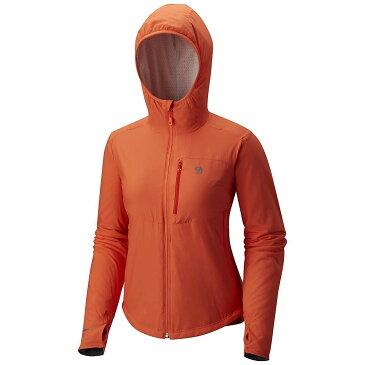 マウンテンハードウェア レディース スキー・スノーボード アウター【Mountain Hardwear Skypoint Hooded Jacket】Bright Ember
