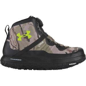アンダーアーマー メンズ ハイキング・登山 シューズ・靴【UA Fat Tire GTX Boot】UA Barren Camo / Black / Velocity