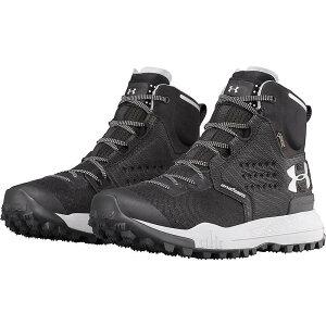 アンダーアーマー レディース ハイキング・登山 シューズ・靴【UA Newell Ridge Mid GTX Boot】Black / Steel / Steel