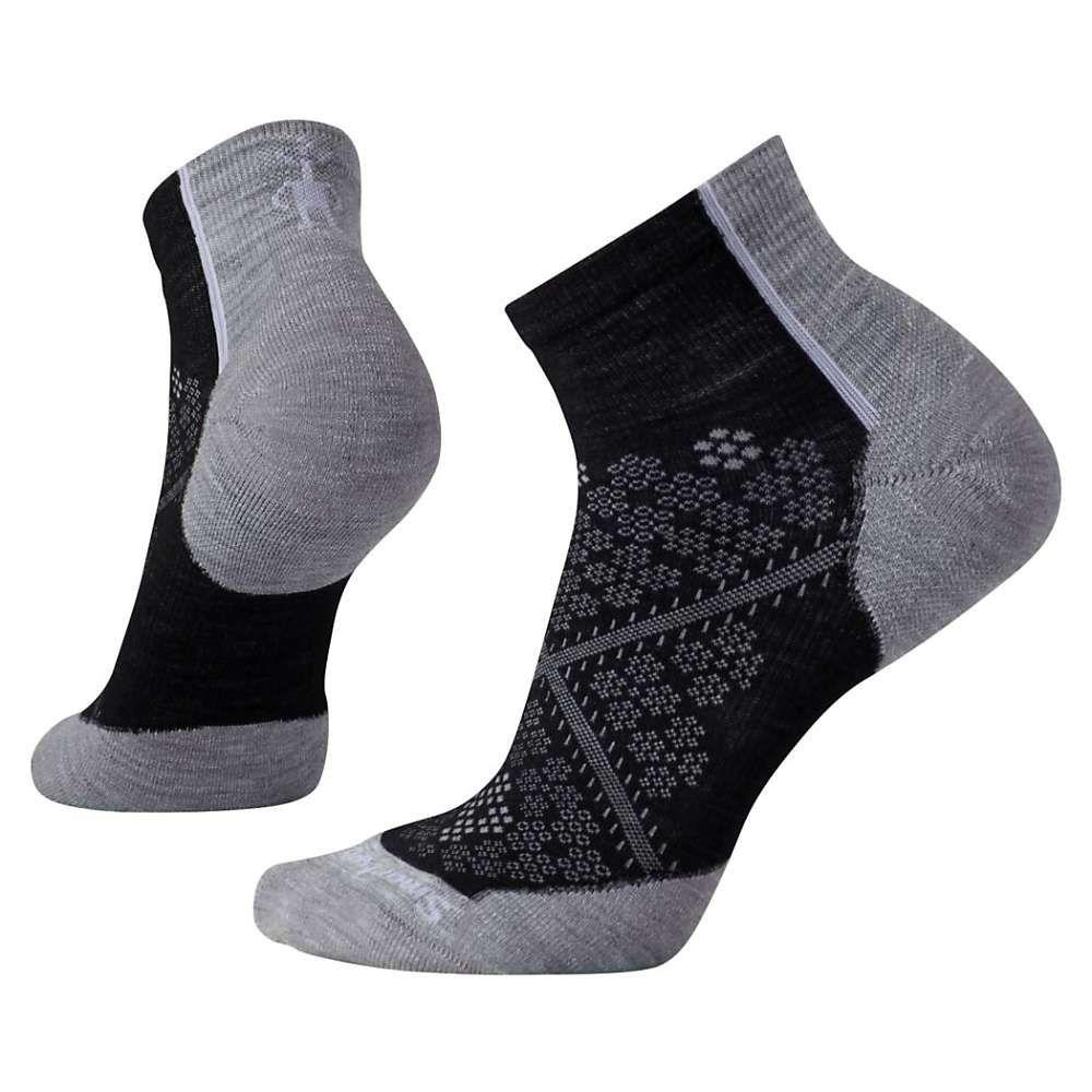 スマートウール レディース 自転車【PhD Cycle Light Elite Low Cut Sock】Black
