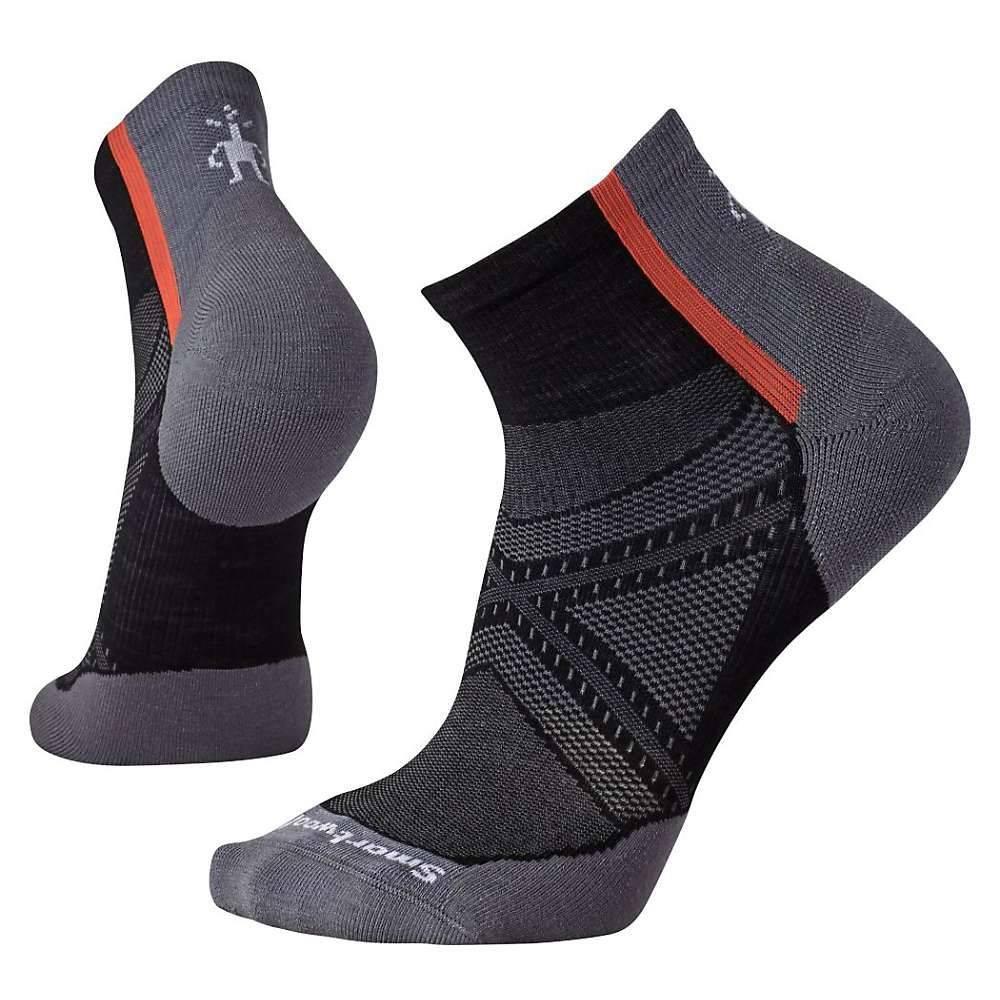 スマートウール ユニセックス 自転車【PhD Cycle Light Elite Mini Sock】Black