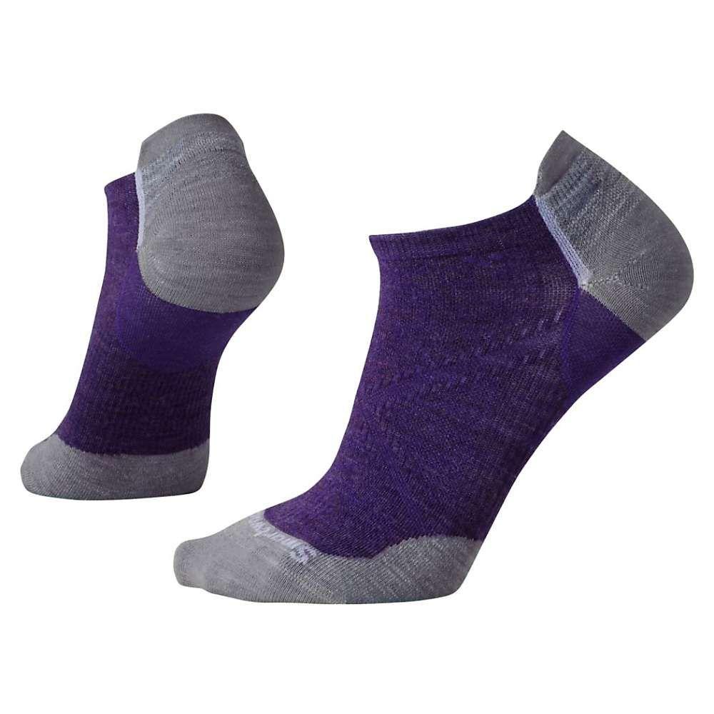 スマートウール レディース 自転車【PhD Cycle Ultra Light Micro Sock】Mountain Purple