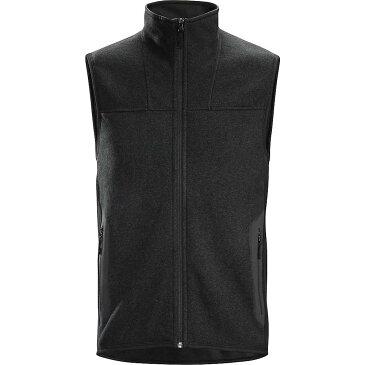 アークテリクス Arcteryx メンズ トップス ベスト・ジレ【Covert Vest】Black Heather