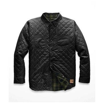 ザ ノースフェイス The North Face メンズ スキー・スノーボード アウター【Fort Point Insulated Flannel Jacket】TNF Black / TNF Black